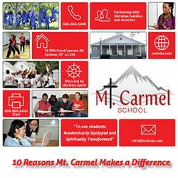 10 Reasons To Choose Mt. Carmel