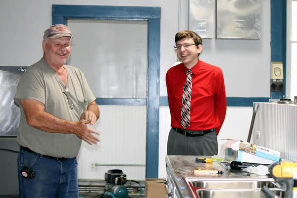 Jeff McNeal and John Sisler