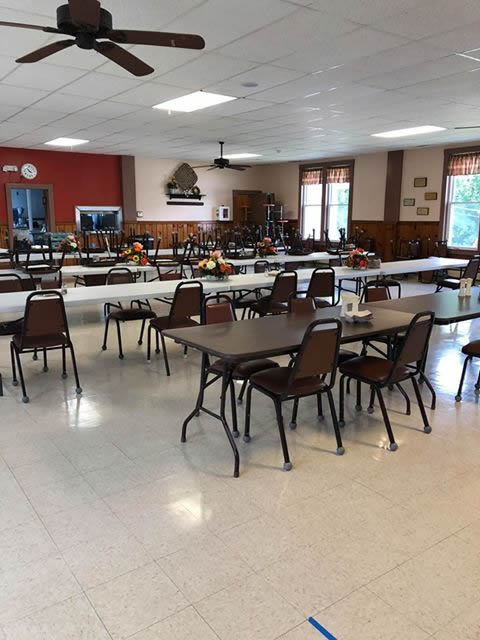 Dining Hall Interior Gets a Facelift